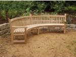 Garden Furniture - Audley Curved Seat