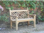 Andrew Crace Garden Furniture - Chinoiserie 2 Seater Seat