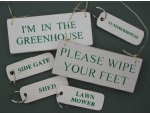 Garden Oriented Gifts - Signs and Keyrings