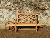 Garden Furniture - Wheelbarrow Seat, Charles Over style