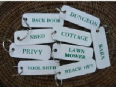 Garden Gifts - Wooden Keyrings