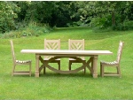 Garden Furniture - Refectory Table & Chairs