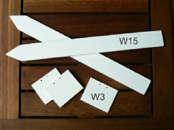 White Wooden Labels